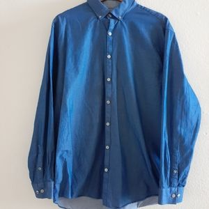 Kenneth Cole Reaction Slim fit button down…